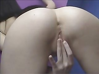 Teen Babe Playing With Pussy And Ass