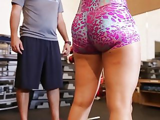 yes!!! fitness hot ASS hot CAMELTOE 59
