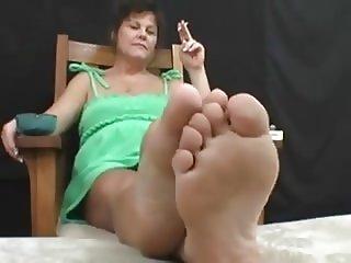 pieds odorant de milf