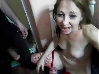 Piss in mature housewife mouth