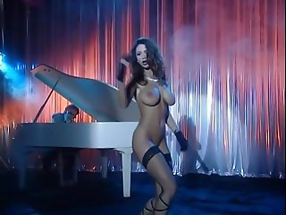 sexy big boobs legend veronika hot night club striptease 2