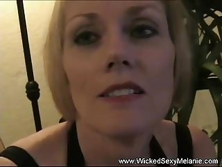 GILF Strokes And Sucks Cock