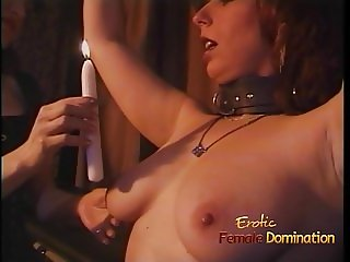 Luscious redhead tart enjoys being spanked hard in the dunge