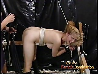 Stunning starlets really loved filming some kinky BDSM porno