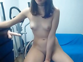 Teen Girl on Chair Facial at the end