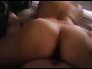 Latina Mexican MILF Wife Reverse Cowgirls on Giant Cock!