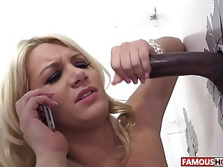 Layla Price Visiting The Famous Glory Hole