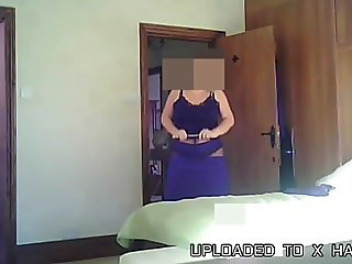 Big Titted Wife Exposed - Nylons No.5