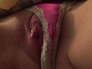My Amateur Wife Enjoying Nice Slow Orgasm Solo Vibrator