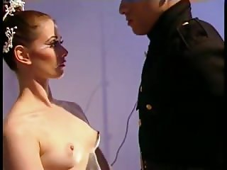 Chloe Nicole - Fetish - Ballerina fucks 3 Marine Officers