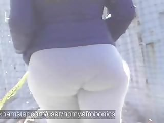 Big & Thick Bubblicious Booty Walking