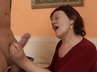 Horny granny over 60 with hot pussy