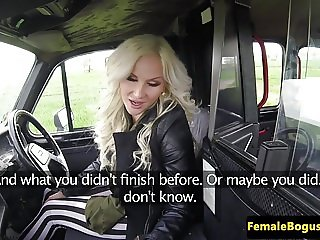 Busty czech taxidriver demands to be pounded