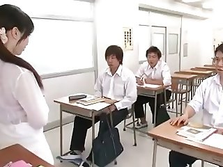 Female Teacher and Schoolboys Horny Sensei Japan censored