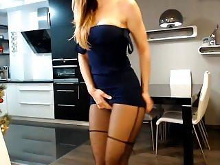 Girl in Skirt Fingering