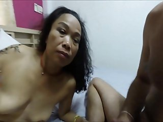 My asian slut rimming and BJ