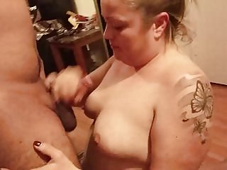 Mexican lady sucks my cock