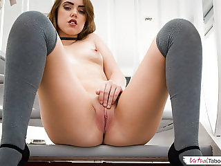 Young sister Zoe wants your hard cock badly