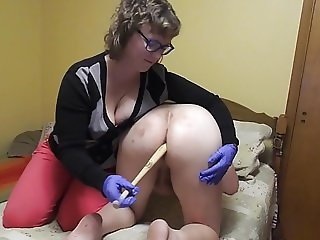 Ass Batter, a clip from Sissy Anal Training