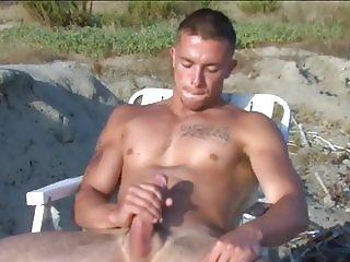 Nude Beach Wankers 01