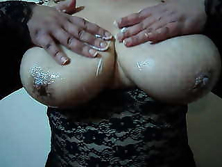 Marina amateur busty- My slippery boobs-