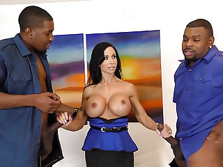 Jewels Jade Loves Anal and DP With Black Cock