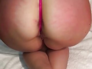 Phat Ass Stuffed With Glass Butt Plug For ALL THE BOYS!!!!