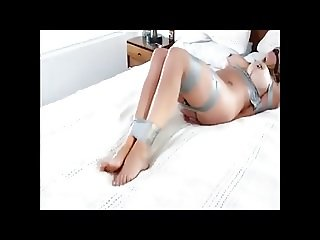 Blonde Women with huge boobs bondage orgasm