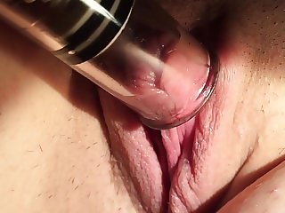 Sexy Amateur Wife Pumped Pussy Big Clit Play 3