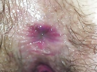 Licking and smelling my wife's hairy asshole