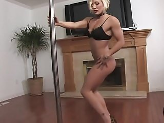 tight bodied strip dance