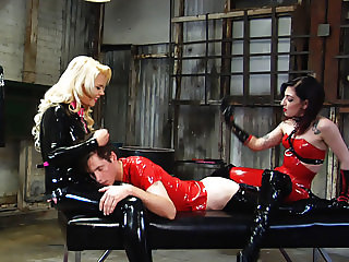 Cybill Troy Strap-On Pegging 1